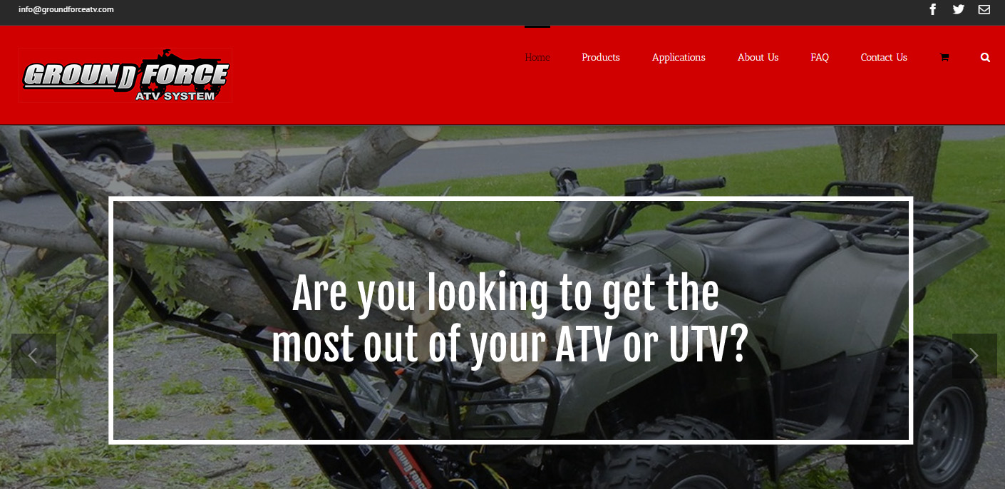 ground force atv system