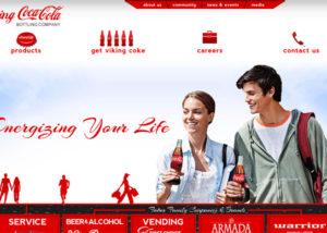 Viking coca cola
